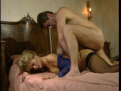 Action in the bedroom and a good rearending in the car. (Clip)