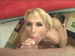 Massive Titty Cougar Getting Pussy Slammed