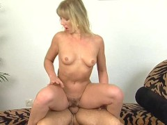 Blonde housewife fucked real good