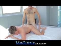 ManRoyale Sweet Bear Cub Lovers Sensual Afternoon Sex