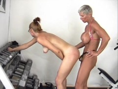 Muscle Butch Gives Teen A Workout - Spitfire