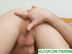 Jerking fingering and selfcum
