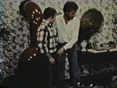 Vintage footage from when people shaved less - Blue Vanities