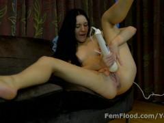 Multi-orgasmic Squirting Babe Just Keeps On Cumming
