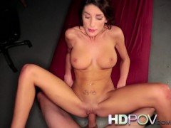HD POV Hot Brunette wi... -