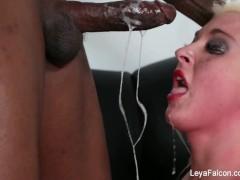 Leya Falcon Fucked Hard By Big Black Dick