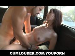 Asian Pornstar Marica Hase fucked hard on a Van