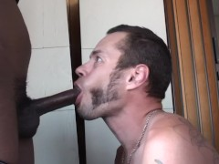 Swallowing cum from BBC - Factory Video