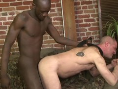 Blindfolded interracial anal - Factory Video