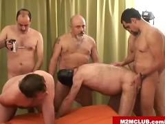 Hot hairy orgy