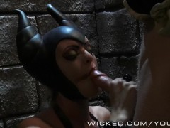 A Truly Maleficent blowjob