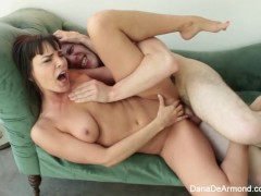 Fun Fuck and eating with Dana DeArmond and Wolf Hudson