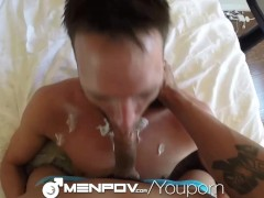 MenPOV Top and Bottom get into a hot fuck