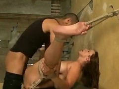 Bella rossi gets hogtied and dominated by bbc