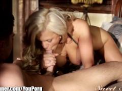 SweetSinner Seth Gamble and Sensual Blonde Babe