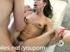 Tiny cum eater Riley Reid