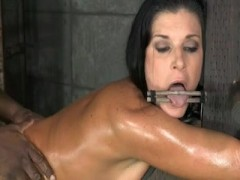 Tied up and Fucked till she Shake