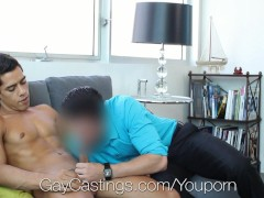 HD GayCastings - Sexy mixed Bobby Hart is trying out porn