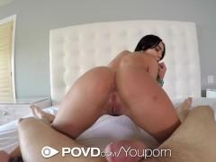 Hot ass latina Selena Santana is fucked in POV - POVD