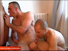 2 sexy bi-guys with huge coc for my big cock !