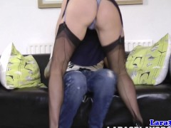 British mature fingered in her sexy lingerie