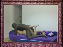sexy french brunette 23 fucked by haitian black 21