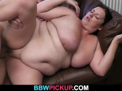 Huge bitch is picked up by horny photographer