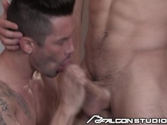 FalconStudios Riding Sebastian Kross' Dick Like A Champ