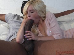Tiny Piper takes 12 inch biggest black cock!