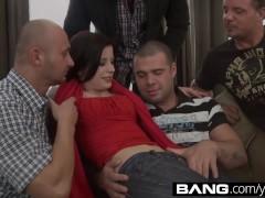 BANG.com:Sexy Teen Vixens Partake In a Gangbang
