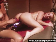 RealLesbianExposed - Blindfolded Holly Halston Doesn t Know She s Gone Lesbo