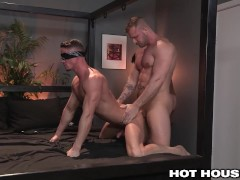 HotHouse Blindfolded and Spitroasted by Total Hunks