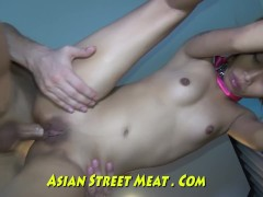 Thai Tooty With Teethy Smile Tethered Up Anus