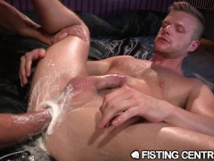 Brian Bonds is Rock Hard from Deep Fisting Penetration