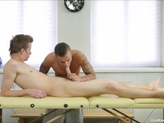 Dom Uly and Thomas Fiaty Loves Dick Massage