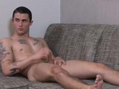 ActiveDuty Straight Tall Italian Soldier Jerks His Dick