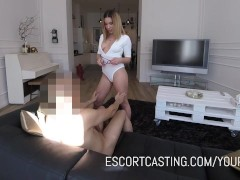 Real Law Student Hired As Escort and Gives Amazing Anal Performance