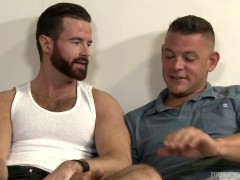 Hot Hairy Muscular Irishmen Barely Has Gag Reflex!