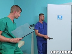 Shh..But These Hard Hunk Doctors Rough Fuck On The Low