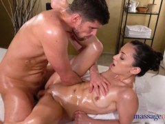 Massage Rooms Small Ukrainian babe Shrima Malati fucks doggystyle and 69