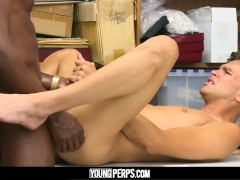 YoungPerps - Thief Gets fucked By Black cock