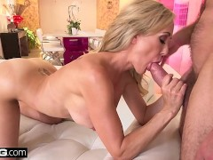 : Squirting Brandi Love loves having a thick dick in her pussy