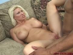 Huge boob Mom takes big black cock