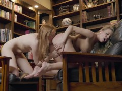 The Sessions Volume 5 – Britney Amber licks young redhead Maya Kendrick