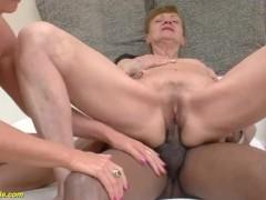 interracial anal granny orgy