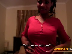 First Time Anal for African Sweetheartl By Huge White Dick