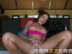BRAZZERS - Yoga Ho Juelz Ventura & Johnny Sins fuck POV