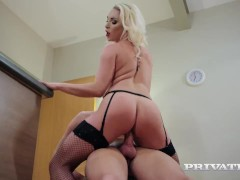 Private.com - Busty Victoria Summers fucks in stockings