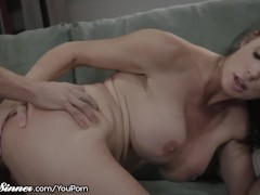 SweetSinner Huge Tits Cougar is HOT for Daughter's Boyfriend