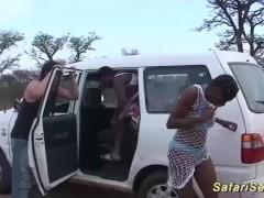 african safari groupsex orgy in nature